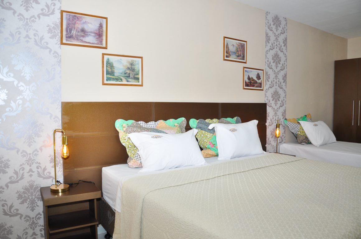 Apartamento De luxe acessibilidade triplo/família